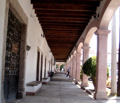 Ciclismo, Portales del centro de Aculco, Pueblo Magico Edo. México