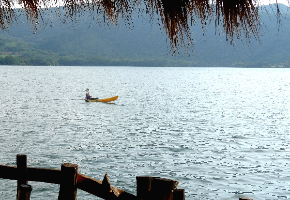 Paseo en Kayak, Laguna de Sta. Ma. del Oro, Nayarit