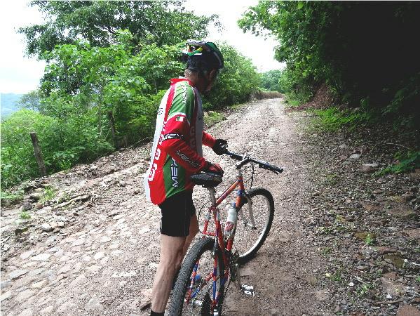 Cicloturismo en el circuito Laguna de Sta. Ma. del Oro, Nayarit