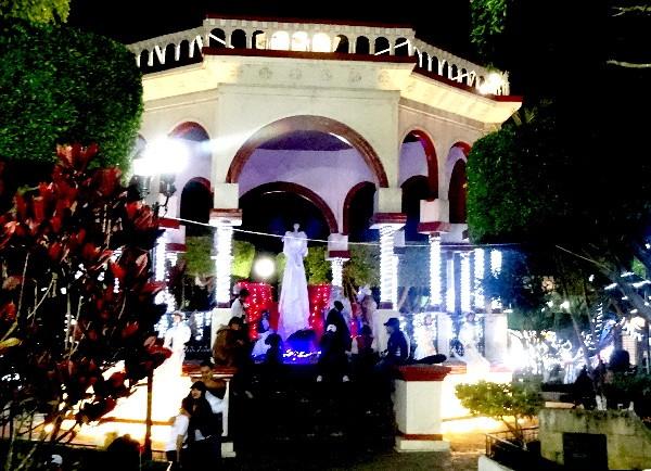 Kiosco de Comitán Chiapas. Cicloturismo 2017