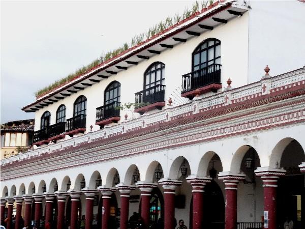 Centro de  San Cristóbal de las Casas Chiapas, cicloturismo 2017