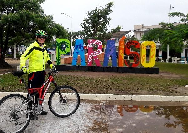 Cicloturismo en Paraiso Tabasco. Año 2018