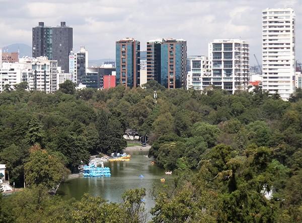 Bosque, lago y zona hotelera de Chapultepec, senderismo urbano, Alcaldía Miguel Hidalgo CDMX