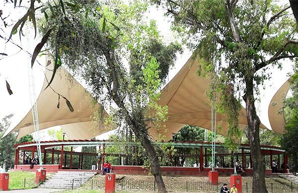 El Ágora, plaza pública para eventos culturales y teatro de artes escénicas, Tlaltelolco, Alcaldía Cuauhtémoc, CDMX